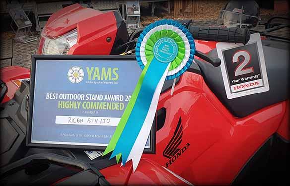 Rican ATV YAMS Honda quad bike