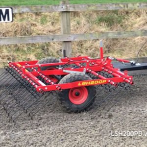 ATV UTV Super Harrow LSH (arena/gallop)