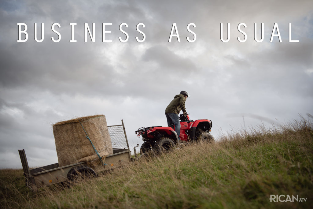 Rican ATV Business as Usual Quad bikes yorkshire