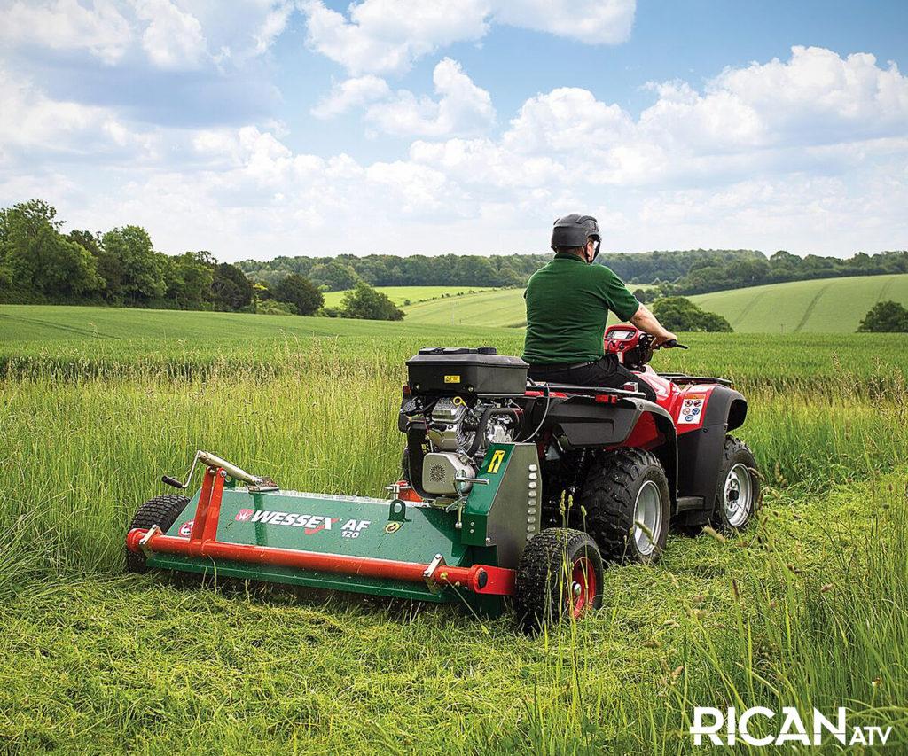 Rican ATV Mower Yorkshire