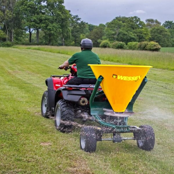 Wessex ATV Spreader | Quad bike implements & equipment Rican ATV York Yorkshire Lincolnshire Humberside